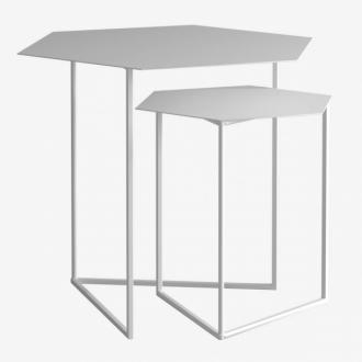 Комплект шестигранних столиків 40 + 60 2