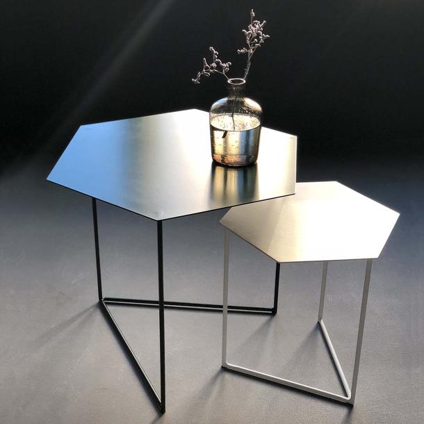 Комплект шестигранних столиків 40 + 60