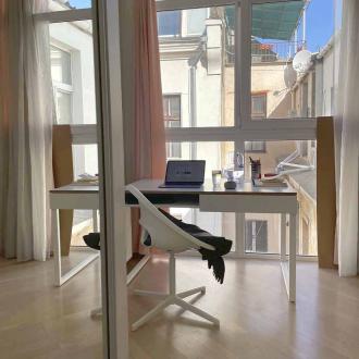 Стол с нишей Simple 2