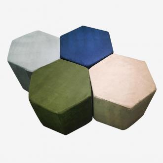 Пуф шестикутник